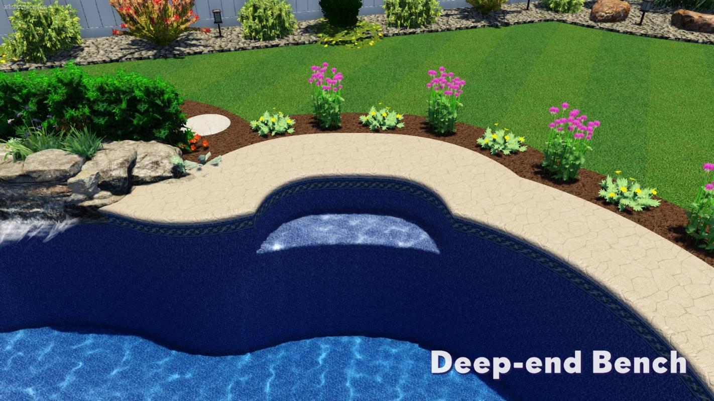 Mountain Pond Pool Shape | Pool Town NJ
