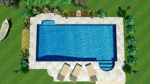 Monaco Pool Shape B | Pool Town