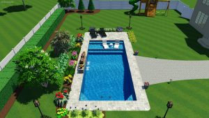 Monaco Pool Shape C | Pool Town