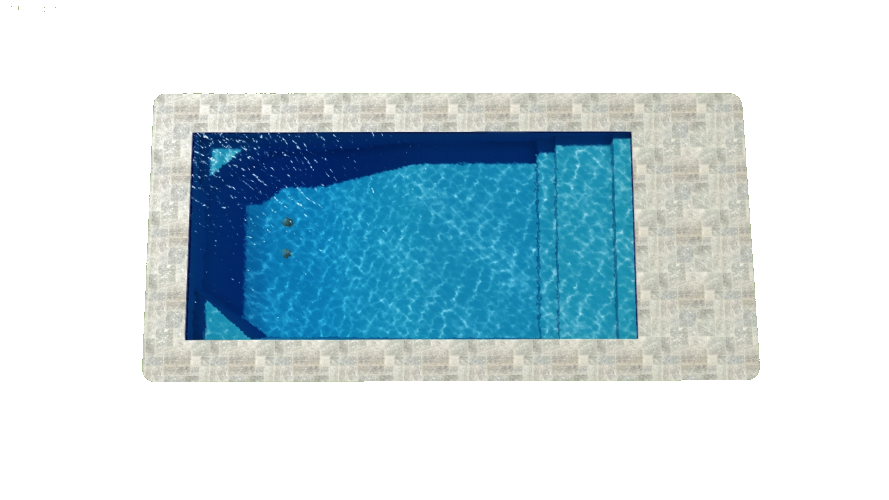 Monaco | Modern Rectangle Pool