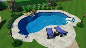 Pool Town's Mountain Pond - Santorini | Summer Sale