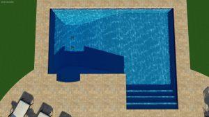 True Ell Pool Shape