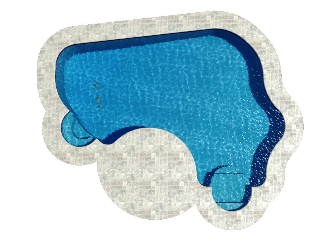 Natural Spring Ell Pool Shape