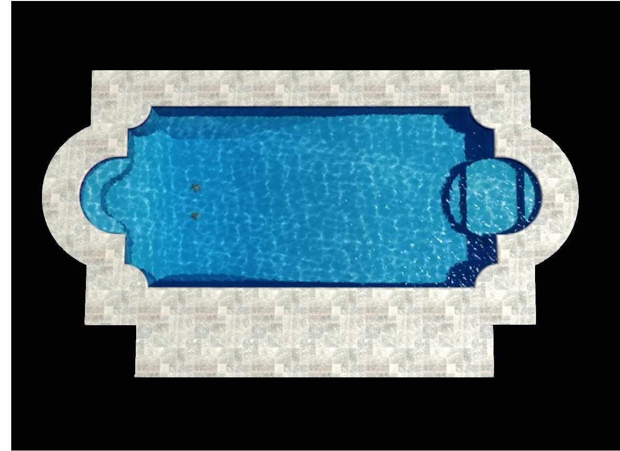 Gothic Pool Shape