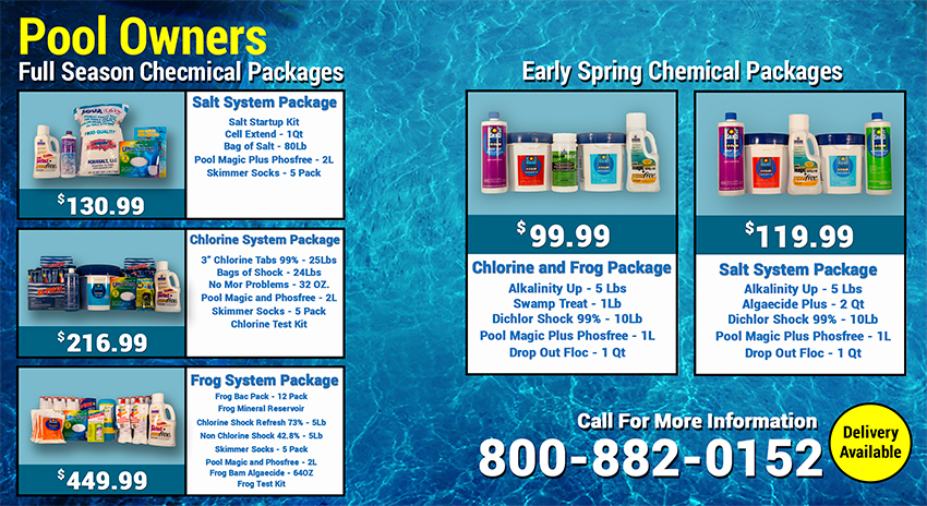 Early Season Specials Mailer Pool Town Inground Pools