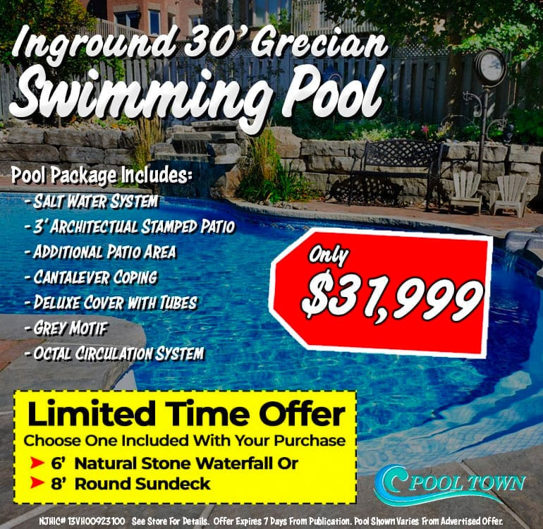 Inground Pool Specials - Pool Town Inground Pools