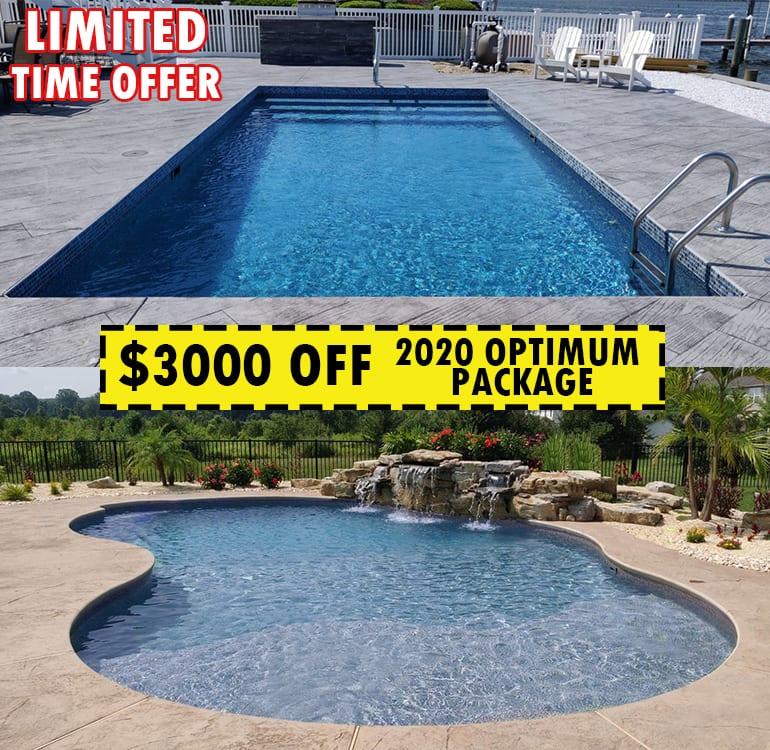Inground Pool Specials - Pool Town Inground Pools